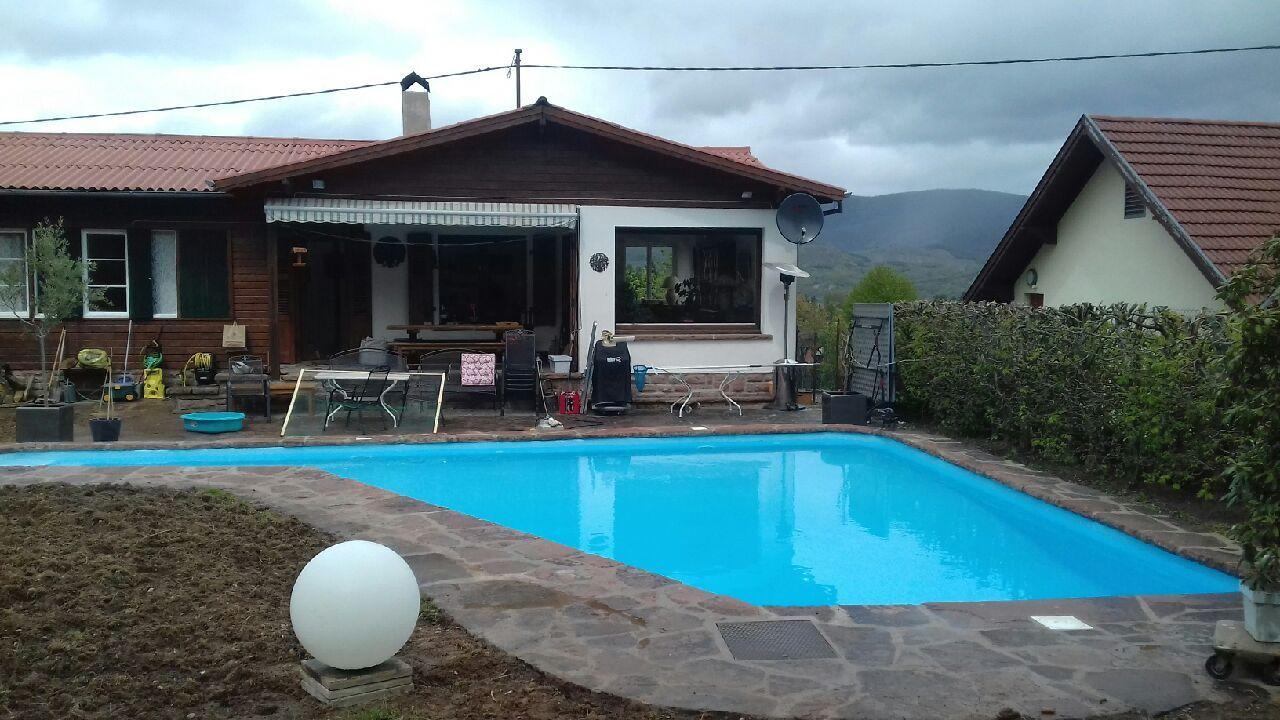 Rénovation piscine extérieure – Alsace