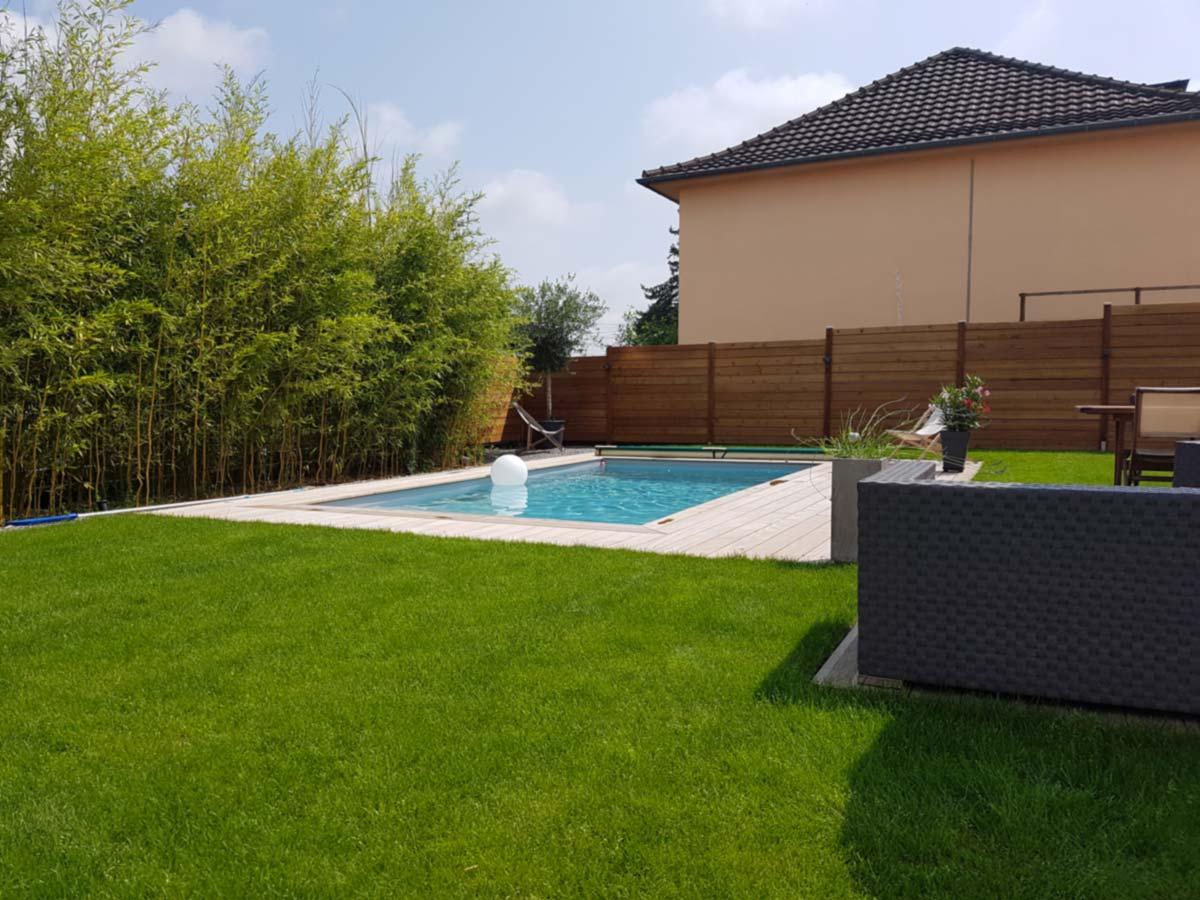 Piscine extérieure – Alsace – Ernolsheim-Bruche